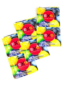 EXS - Bubble Gum Kondomit 100kpl - Kondomit - EXSBUBBL500 - 1
