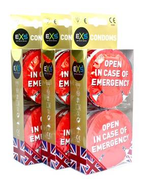 EXS Open in Case of Emergency Kondomit 12kpl - Kondomit - 5027701005160 - 1