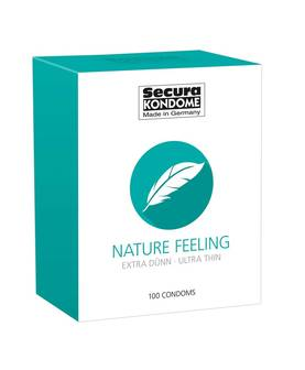 Kondomit Secura Nature Feeling 100 kpl - Kondomit - 4024144416370 - 1