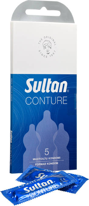 Sultan Conture Kondomit 5 Kpl - Kondomit - 240 - 1