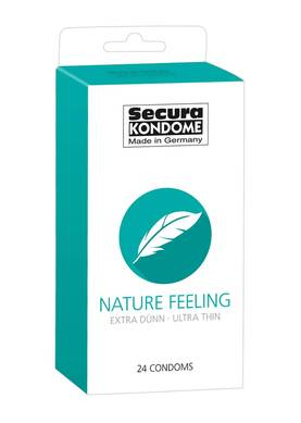 Kondomit Secura Nature Feeling 24 kpl - Kondomit - 4024144416363 - 1