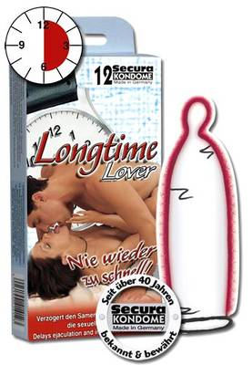 Longtime Love Kondomit 12kpl -  - 414123