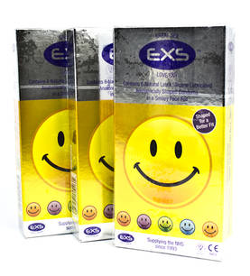EXS Smiley Face Kondomit 6 kpl - Kondomit - 5027701000035 - 1