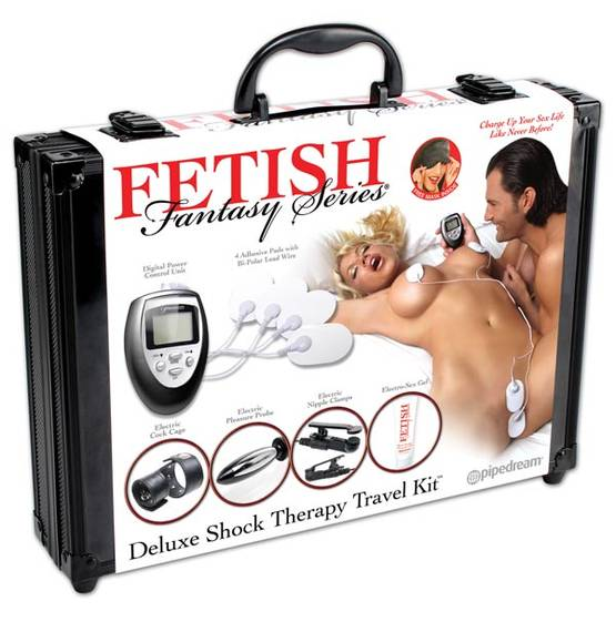 Deluxe Shock Therapy Travel Kit - Electro Sex - 603912285185 - 1