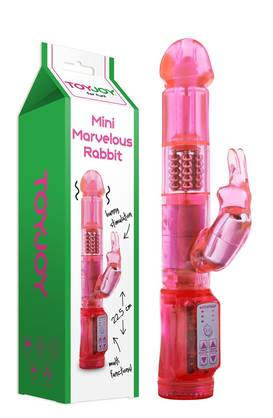 Mini Marvelous Rabbit Vibraattori Pinkki -  - 3006009356 - 1
