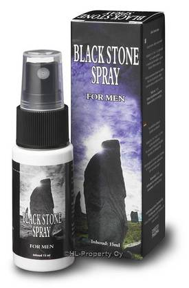 Black Stone Spray -  - 8717344170338 - 1