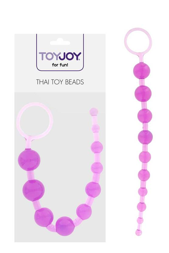 Toy Joy Thai Toy Beads Purppura - Anustapit ja Anaalikuulat - 8713221036766 - 3