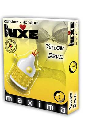 Luxe Kondomit - Yellow Devil - Kondomit - 230089 - 1