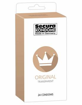 Kondomit Secura Original 24kpl - Kondomit - 4024144416219 - 1