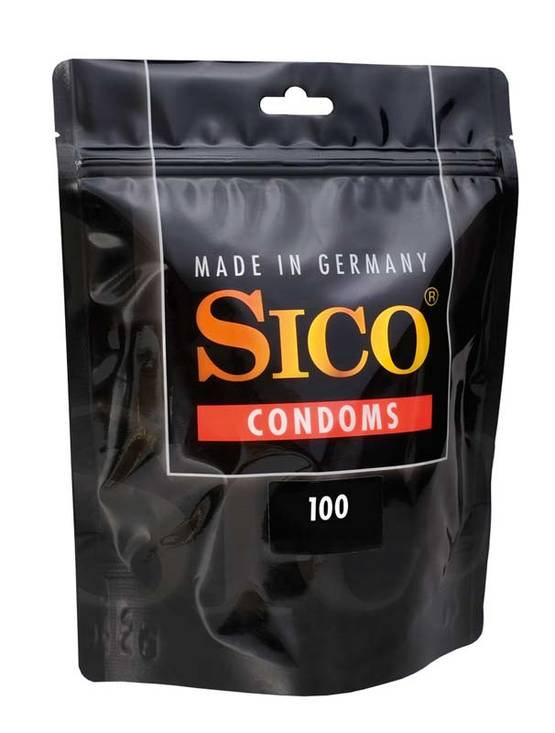 Kondomit Sico Sensation Juomuilla 100kpl - Kondomit - 412619 - 1